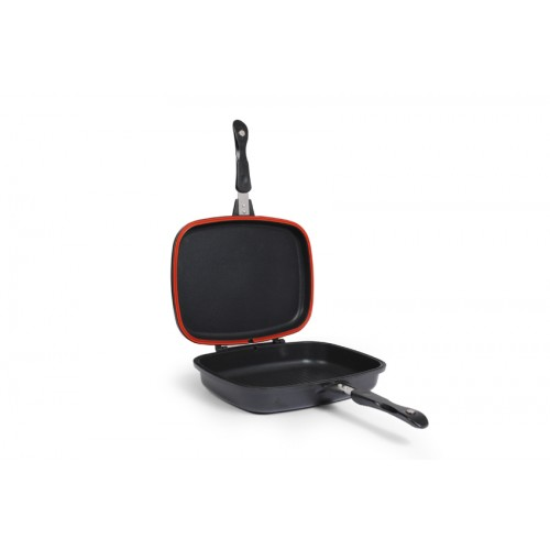 Meat Grill Double Pan Non-Stick